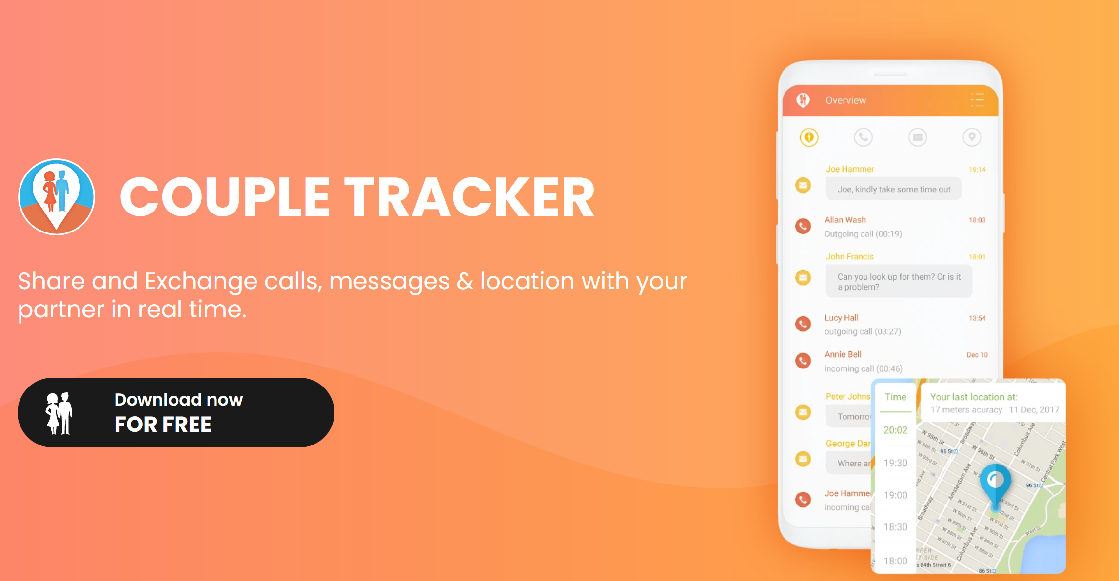 Couple Tracker App